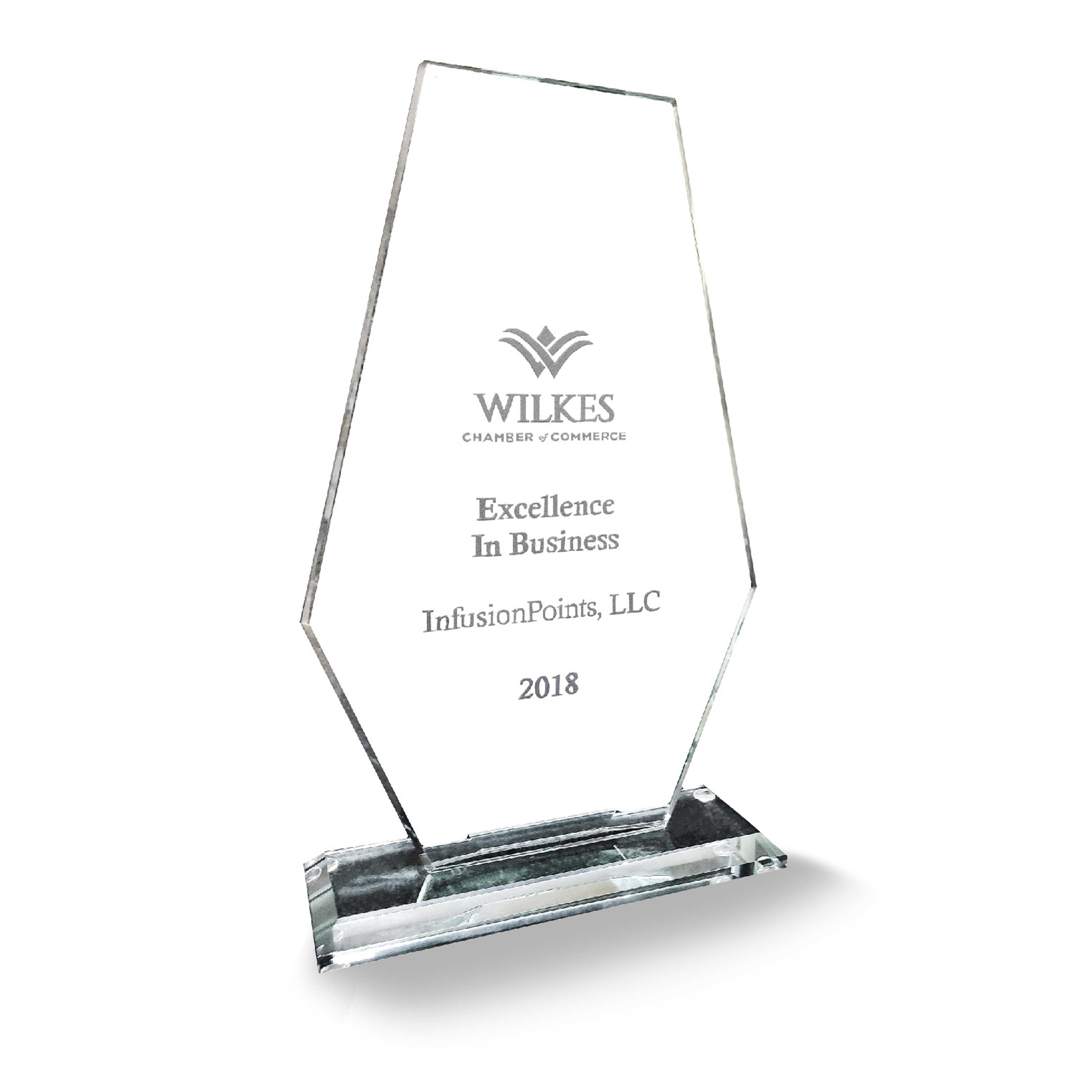 2018 Wilkes Chamber of Commerce Excellence in Business